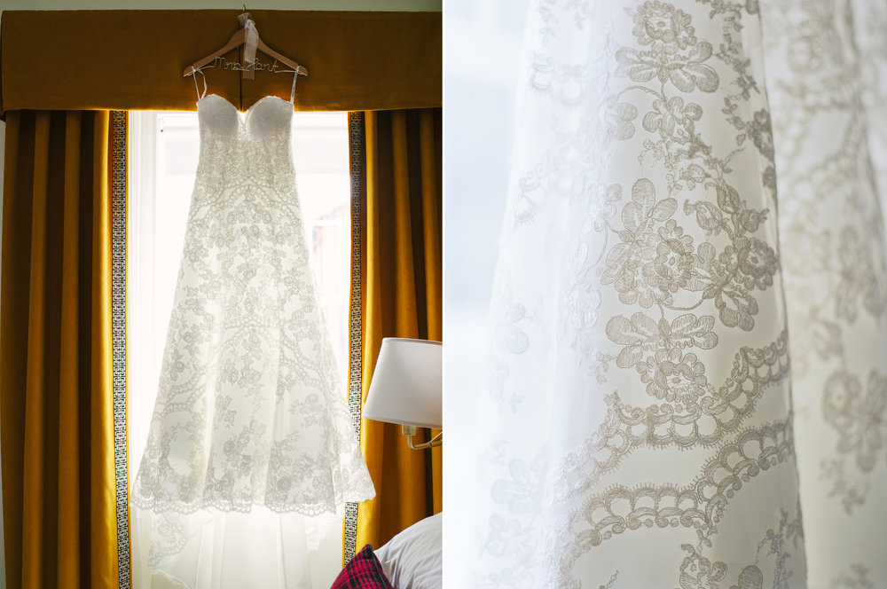 Bridal Gown Hanging at the Graduate Athens.jpg