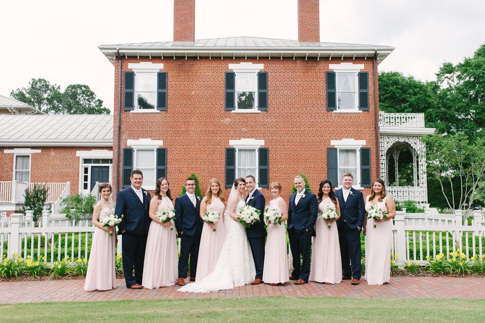 Lyndon House Arts Center Wedding Party Photos Athens-2023.jpg