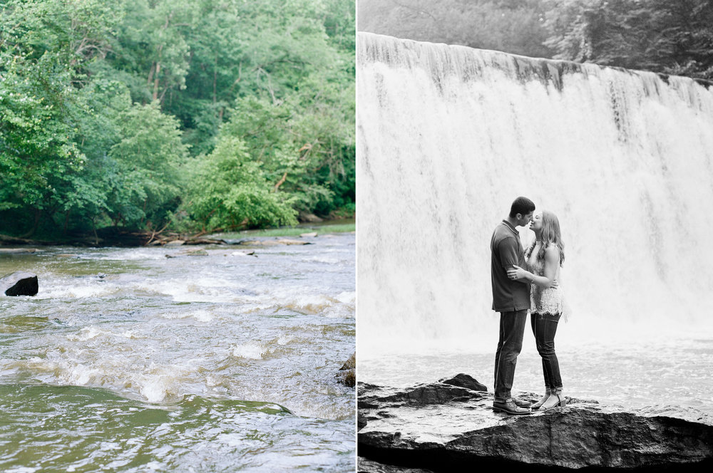 Roswell Mill Waterfall Engagement.jpg
