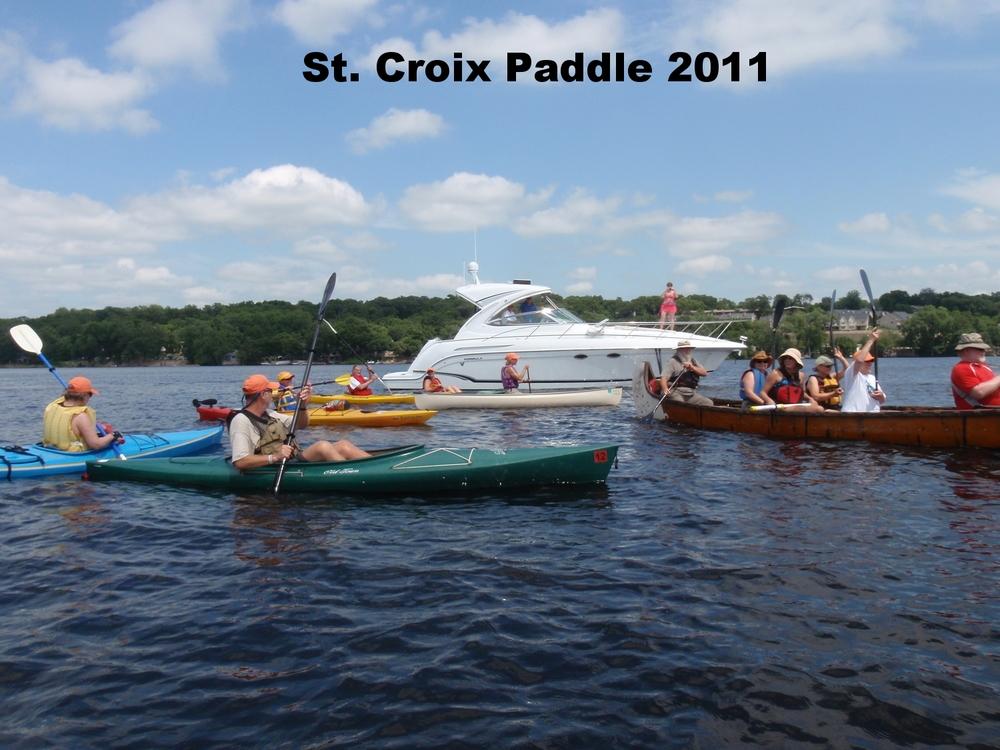 2011 St. Croix River Paddle - clean water ahead.JPG