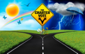 The upcoming charter won't likely be the difference between sunny and stormy days. But if passed, it will change the way we are governed. (bigstockphoto.com; istockphoto.com; The Columbian)