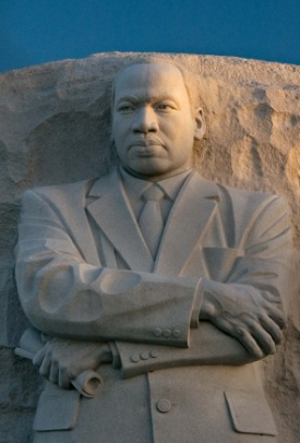 MLK Memorial in Washington D.C. Based on a bob fitch picture