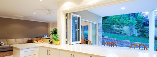 Bi fold windows
