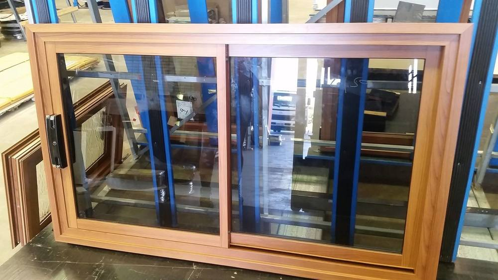 Timber Look Aluminium Windows