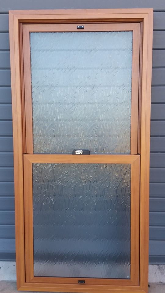 Timber Look Aluminium Windows On Doors