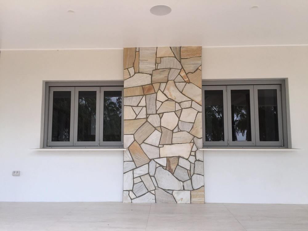 Bi Fold Windows Stone Finish