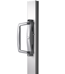 twin sliding door lock