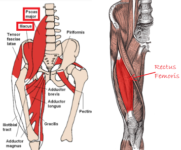 hip flexors and massage
