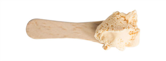 SALTED CARAMEL A salty blend of cream and caramelized sugar makes this rich ice cream. A twist on a classic caramel flavour Gluten free. Egg free