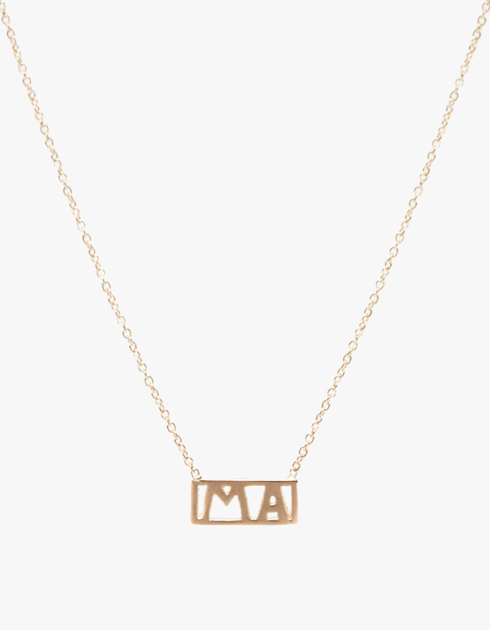WINDEN MA NECKLACE   NEED SUPPLY, $185