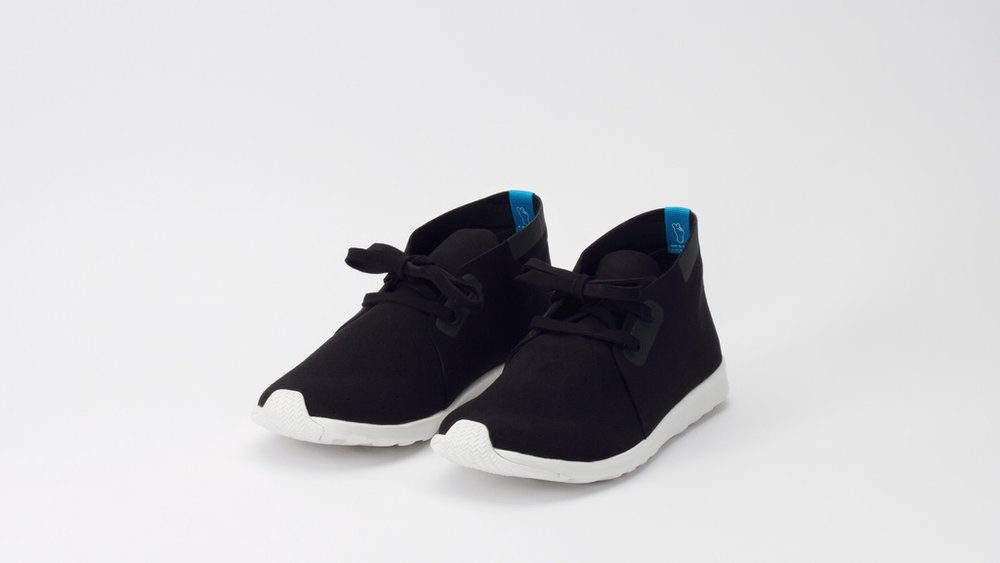 APOLLO CHUKKA BLACK SNEAKER—NATIVE   WILDFANG, $90   Starting out a kid's brand, Native started making adult sizes, and they are wonderful. I currently own the low top version. They are versatile, extremely comfortable and when they get dirty you can just throw them in the washing machine.