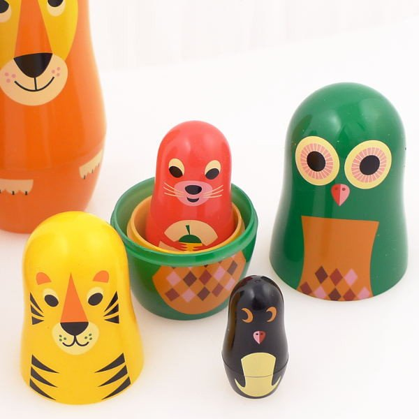 NESTING DOLLS—INGELA P. ARRHENIUS, BIG BEAR MY SWEET MUFFIN, $28