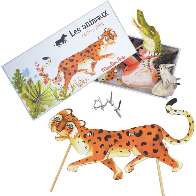 SAVANNAH JOINTED ANIMAL PUPPETS—MOULIN ROTY MY SWEET MUFFIN, $18