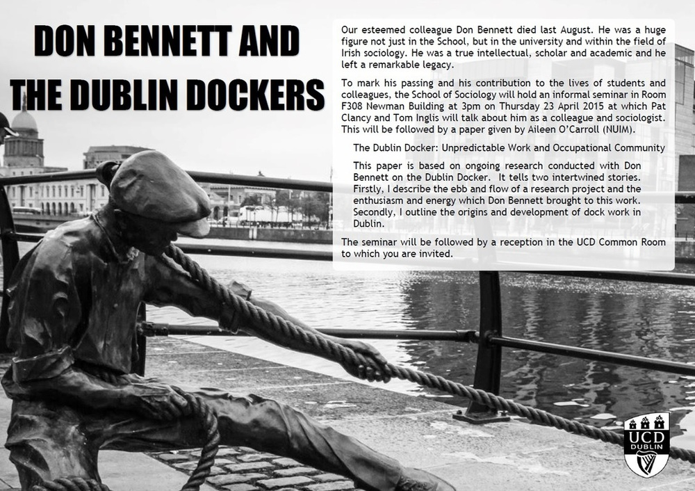 Don Bennett and the Dublin Dockers