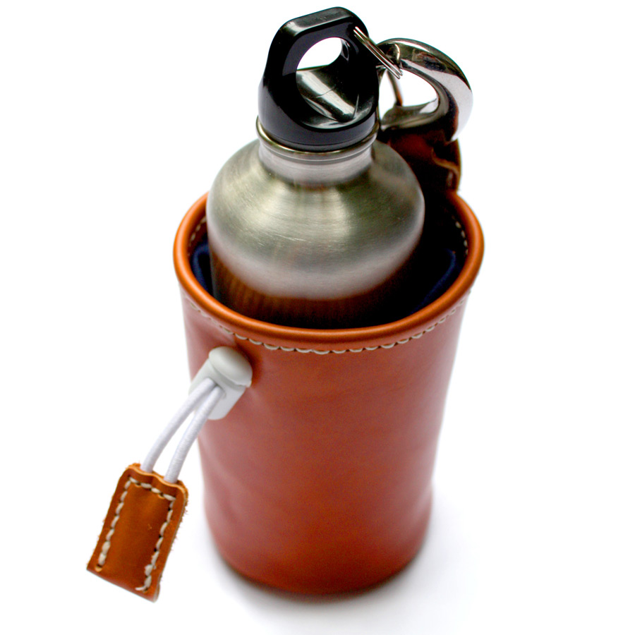 Courier water bottle holder