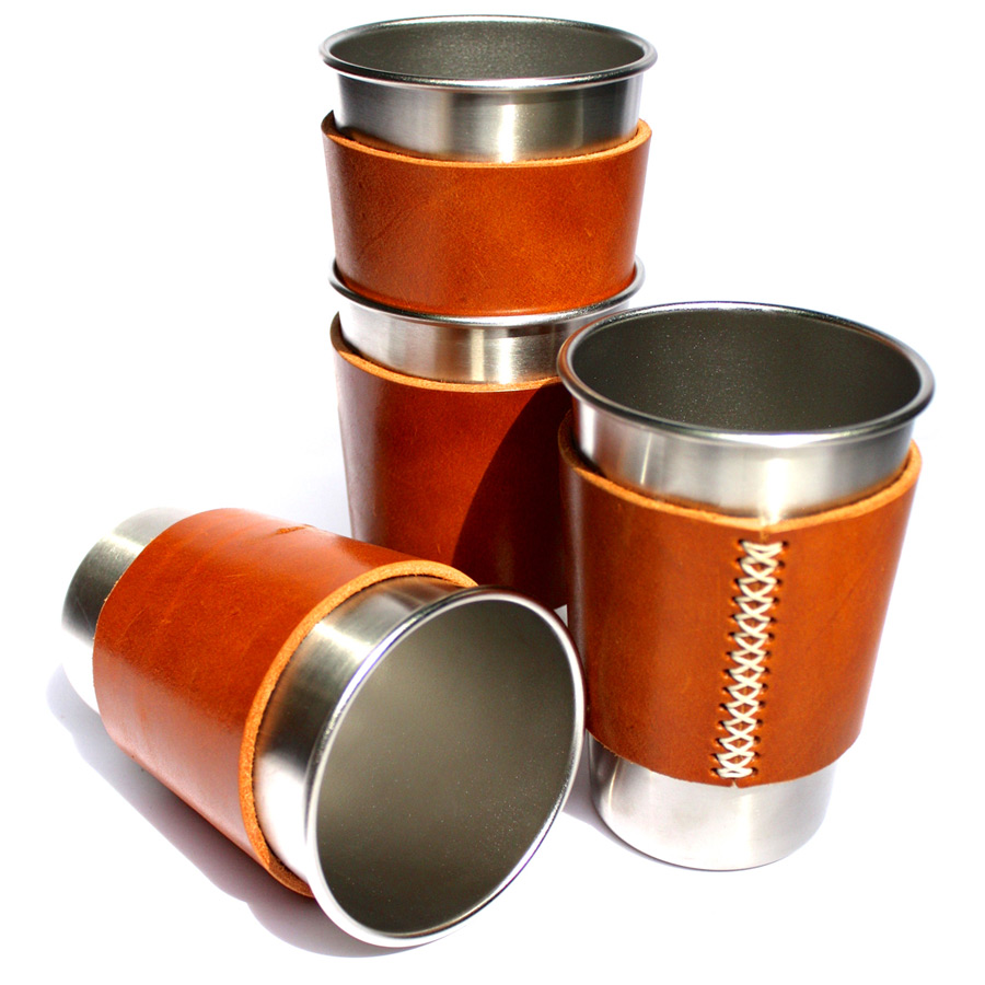 Steel pint pot sleeves