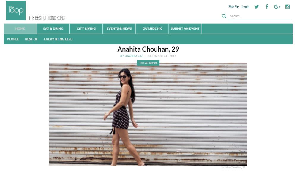The Loop 30 under 30 Anahita Chouhan.PNG
