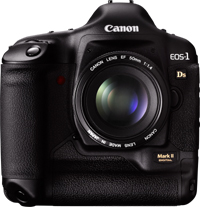 Canon MarkII 1Ds Digital Camera & Lenses