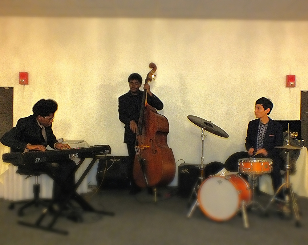 Trio gig for a private event.