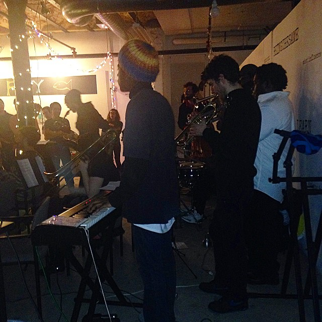 Performance with Ryan Easter's Trap Music Orchestra.