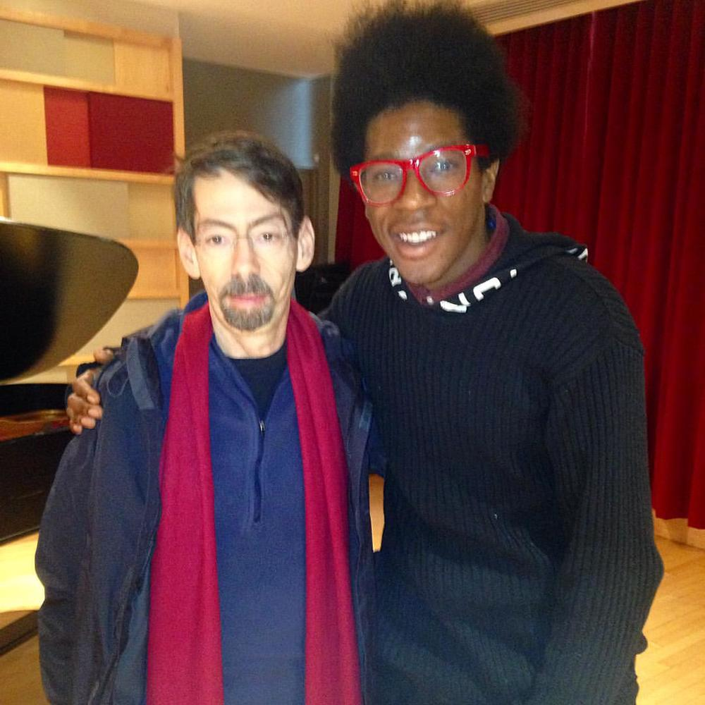 Fred Hersch clinic at NEC