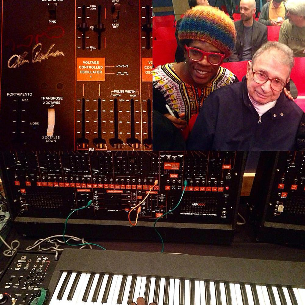 Meeting founder of ARP synthesizers Alan Pearlman