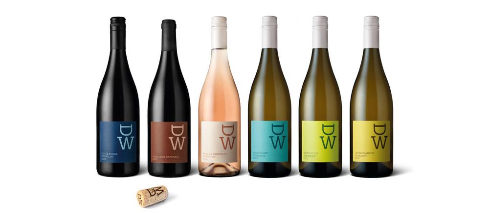 Verpackungskonzept Weingut Diederik