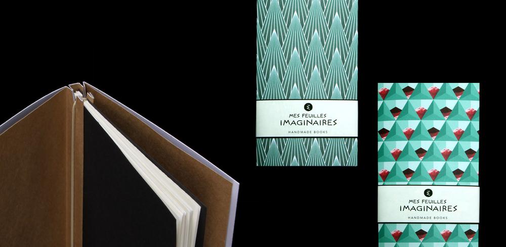 Mes Feuilles Imaginaires – Handgebundene Notizbücher