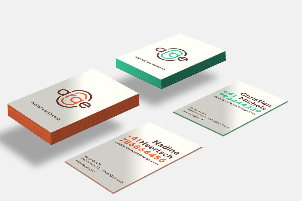 4arge – digital workbench – Corporate Design