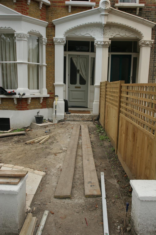 victorian path tiles