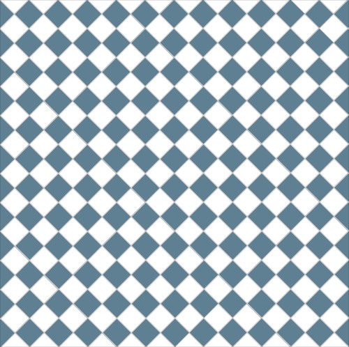 Chequer - dark blue