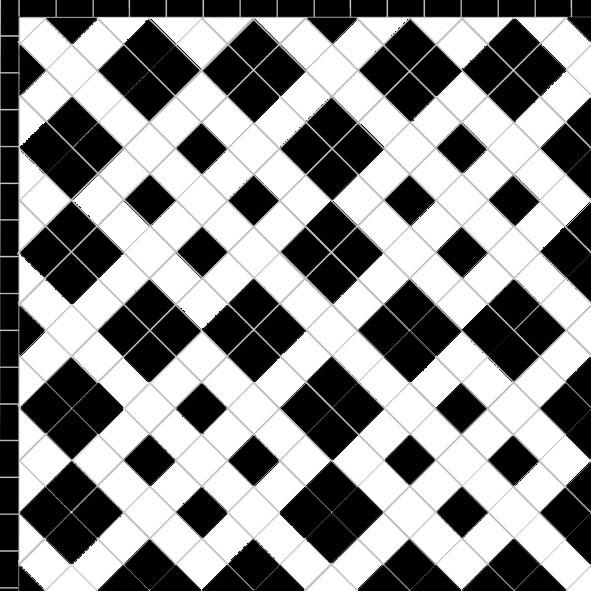 Wolf Hall - Single Black Line Border