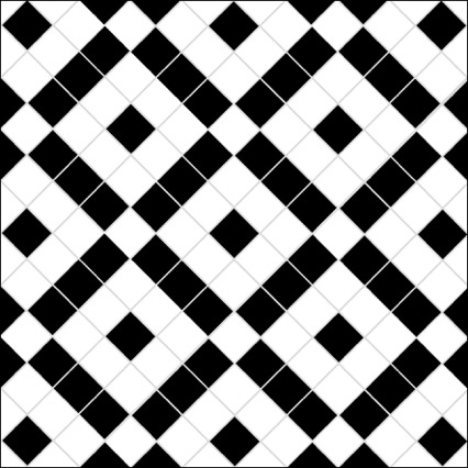 victorian black and white mosaic floor tiles