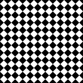 CHEQUER black/white  SALE £108 m2