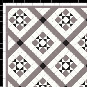 Marazion - £180   3 Line Border - £36 Linear m.  Black, White & Anthracite