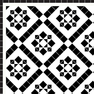Thornton - £185   2 Line Border - £24/Linear m.  Black & White