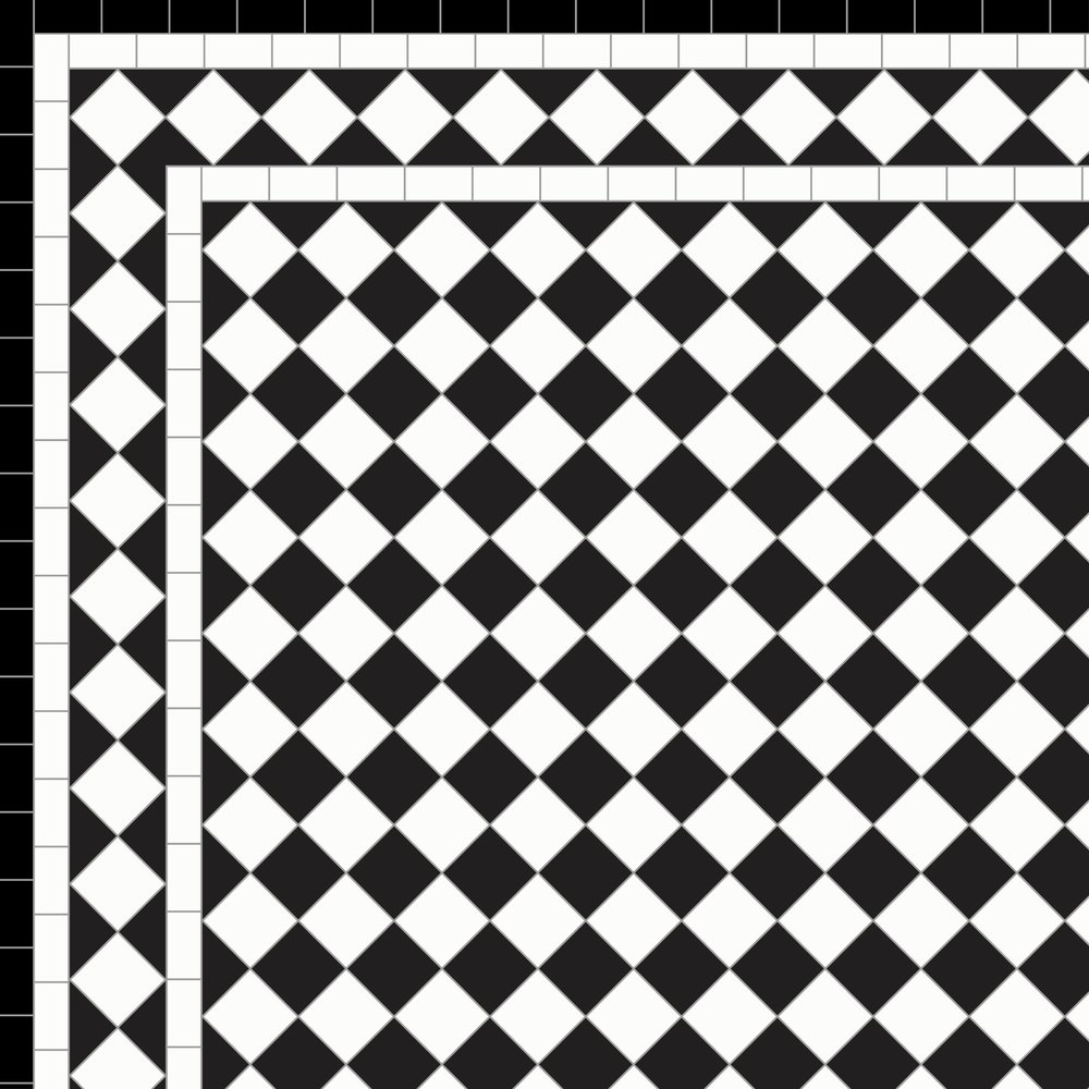 Chequer White Diamond Border Three Lines and 25outer-01.jpg