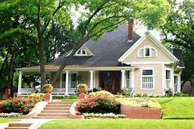Landscape Country Home