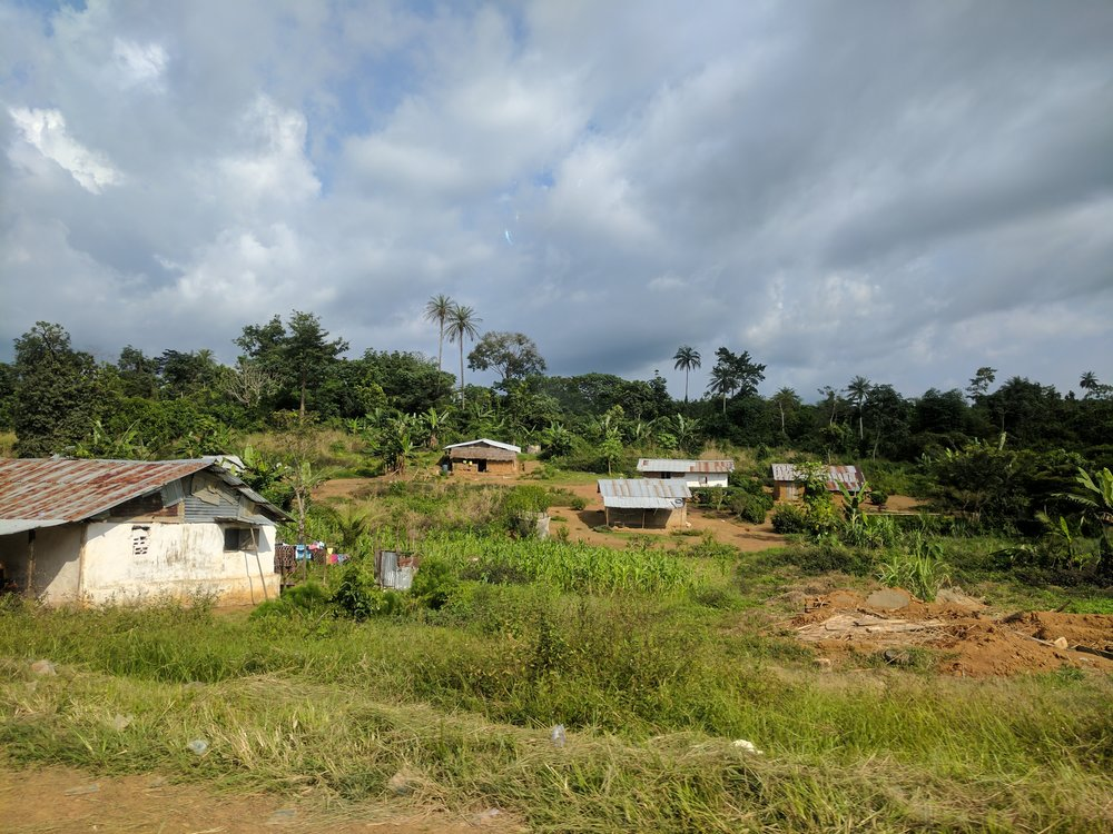 A landscape in Liberia. Photo © Rachel Neugarten