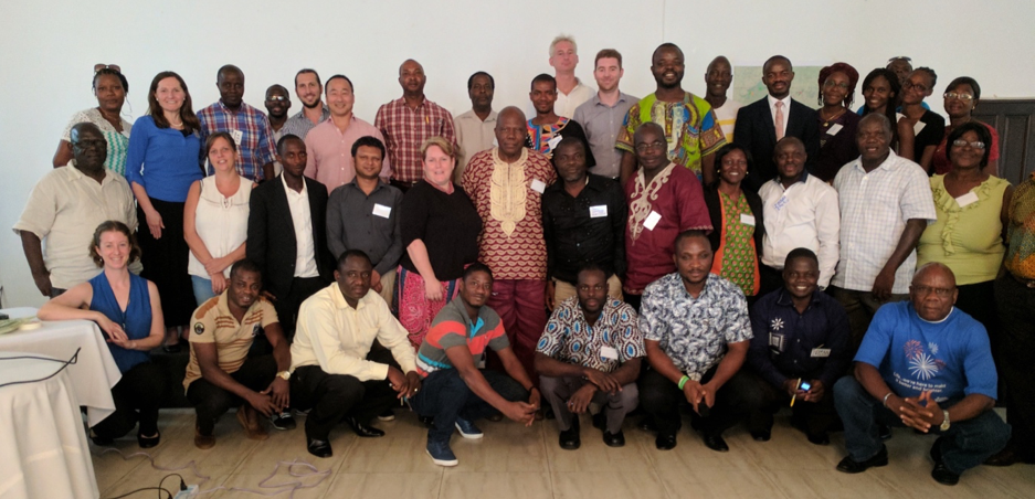 Participants of the stakeholder meeting in Monrovia, Liberia. Photo © Conservation International