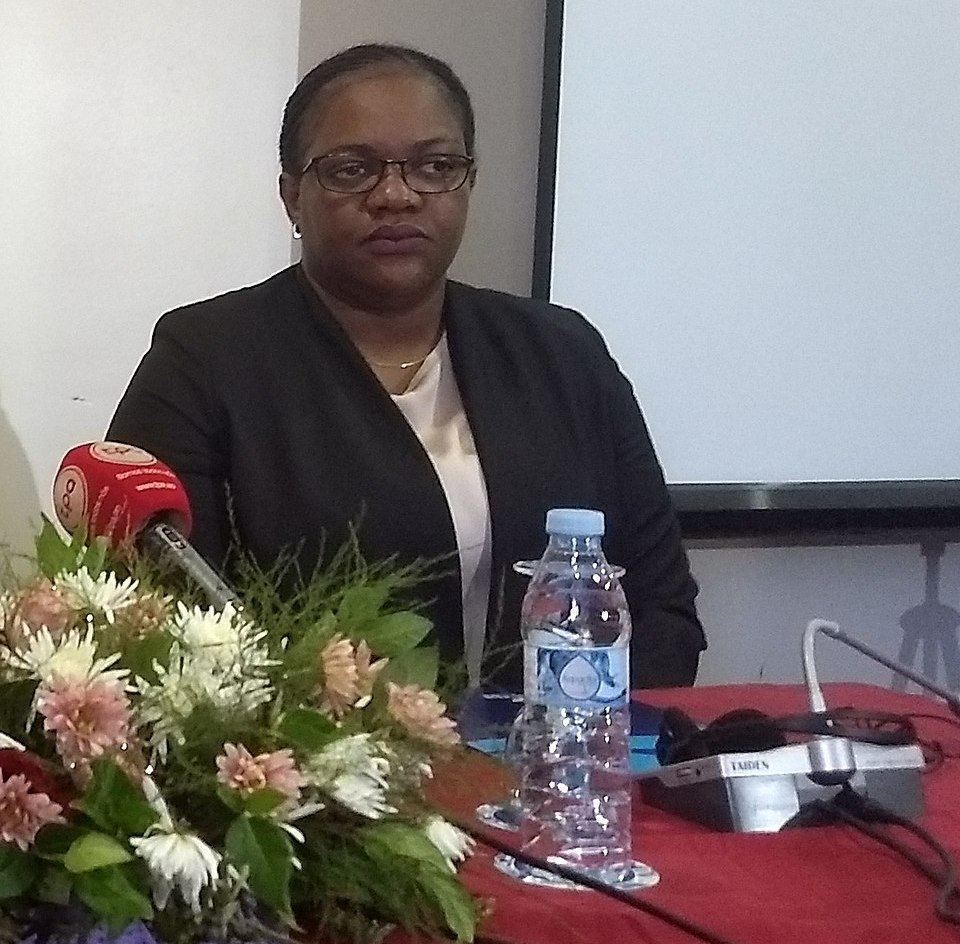 Minister for Environment, Republic of Angola Dr. Paula Francisco. Photo credit: Creative Commons