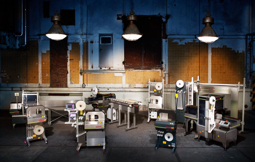 Industriele-fotografie bandall overzicht machines