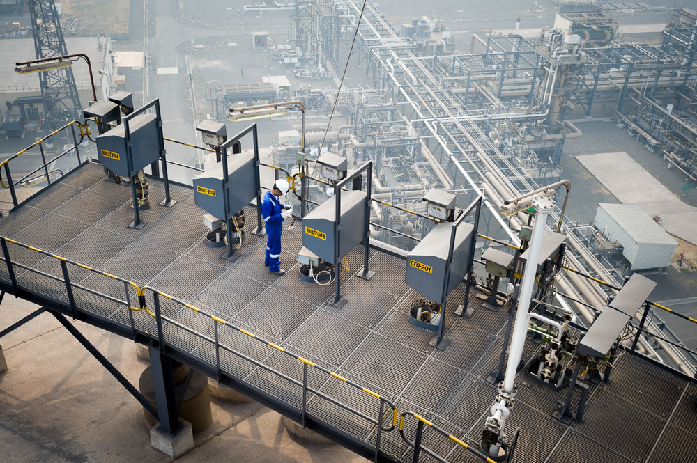 Industriele-fotografie Shell laboratorium India