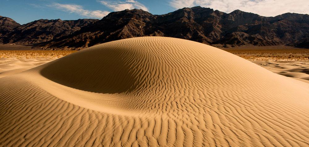 Eureka Dunes, Death Valley, USA Gemaakt tijdens een 10 daagse reis door Death Valley.