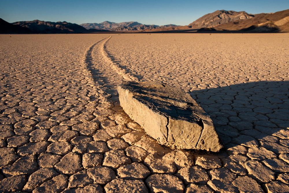 Racetrack playa, Death Valley, USA