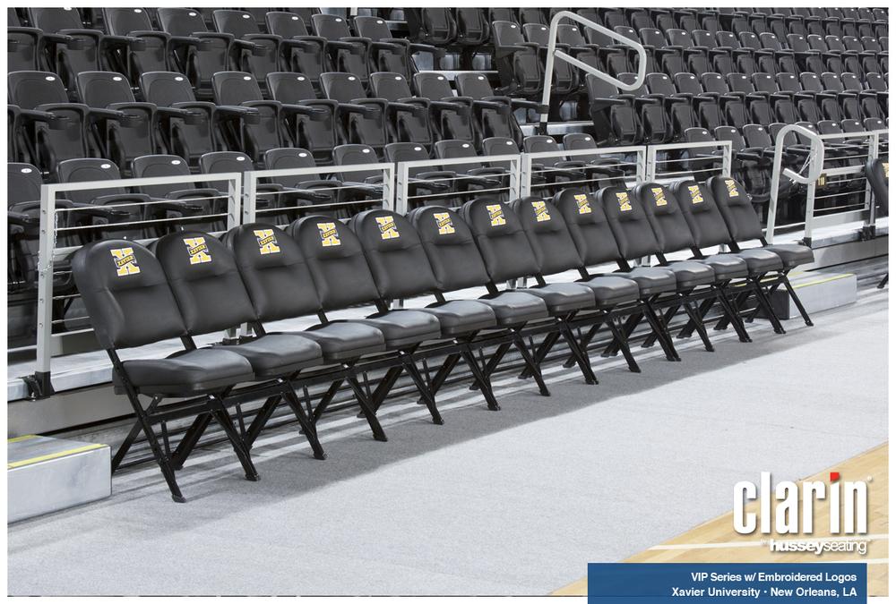 Vip Nba Sideline Seating Premium Folding Chair