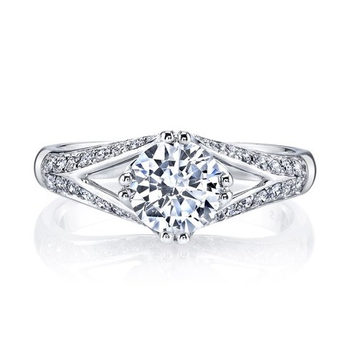 halo modern designer diamond coast jewelers shape engagement cushion barmakian rings large collections ring