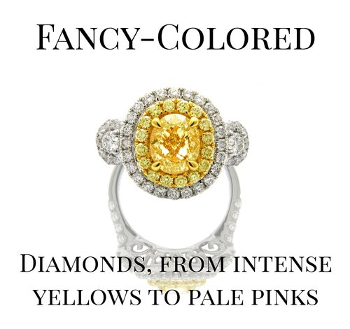 Fancy Colored Yellow Diamond Ring