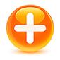 botón-redondo-anaranjado-vidrioso-del-icono-más-88209605.jpg