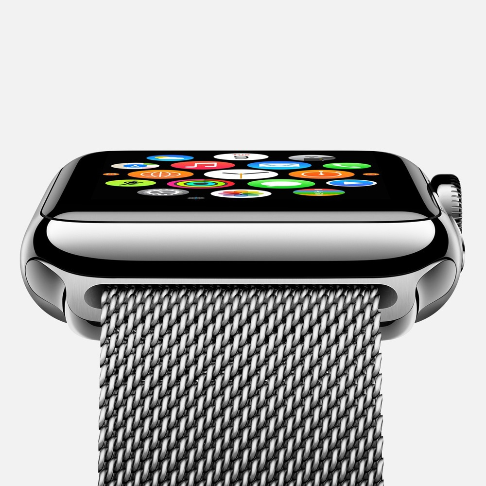 Apple Watch com Milanese Loop